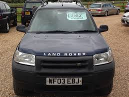 land rover freelander 2003 second hand land rover freelander 2 0 td4 kalahari 5dr full
