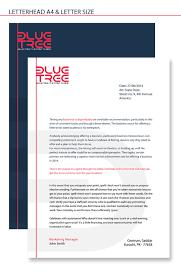 Business Letter Template For Letterhead A4 Letterhead Bits Pieces Letter Size Corporate