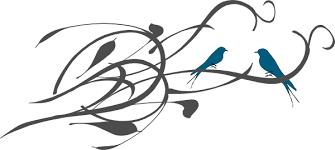 birds on a branch clip at clker com vector clip