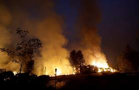 Wildfire Northern Colorado by Wildfires Ravage Northern California With Shocking Speed