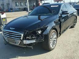 hyundai genesis usa 2016 hyundai genesis photos salvage car auction copart usa