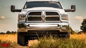 2010 2017 dodge ram 2500 3500 40 inch curved led light bar bumper