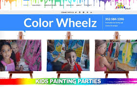 welcome to the color wheelz mobile art parties in hernando