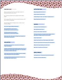 sample sorority resume jennywashere com