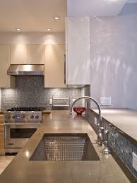 metallic kitchen backsplash metal tile backsplash kitchen gold stainless steel tiles square