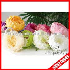 silk flowers bulk various color peony flower bloom bulk silk flowers wholesale buy