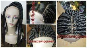 medium box braids with human hair how to medium box braid wig made with lace closure youtube