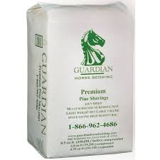 guardian horse bedding premium pine shavings