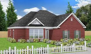 southern house elegant one level southern house plan 40114wm architectural