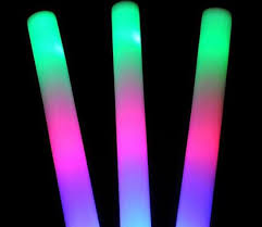glow sticks in bulk led foam stick foam light sticks wholesale glow sticks concert