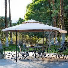 Patio Gazebos And Canopies by Belham Living Crawford 13 X 11 Ft Hexagon Gazebo Canopy Hayneedle