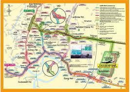 termina map suvarnabhumi expressway map mappery