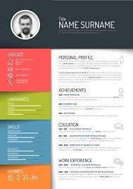 cool resume templates free unique resume templates free creative resume template design vectors