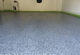 Epoxy Garage Floor Images by Epoxy Garage Floor 100 Flake Coverage In Our Domino Flakes
