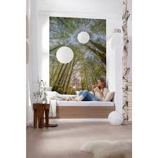 komar 100 in x 145 in canopy wall mural 4 522 the home depot