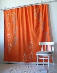 orange and grey shower curtain 251215 orange and gray shower
