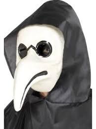 venetian doctor mask venetian plague doctor mask white or black horror fancy