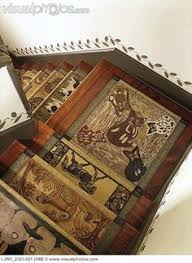 Stairs Rugs Stair Risers I Love This Idea Rugs Pinterest Stair Risers
