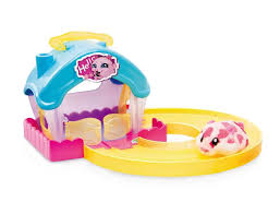 hamsters in a house play set toys