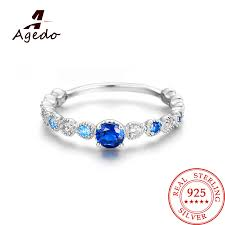 sted rings aliexpress buy 925 sterling silver heart shaped stackable
