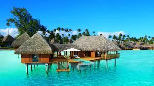 beach polynesia french summer beach paradise resort turquoise