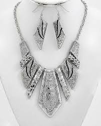 boho necklace set images Pewter boho necklace set sedalia designs jpg