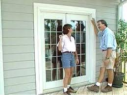 Flashing Patio Door by How To Install French Doors In Outdoor Spaces Hgtv