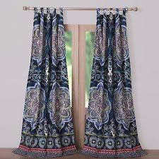 Boho Window Curtains Boho Curtains Ebay
