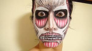 attack on titan makeup3 by kisamake on deviantart