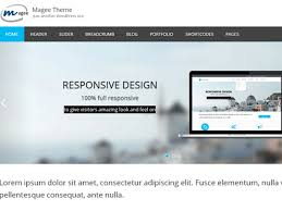 magee a free wordpress theme for business websites it gives you