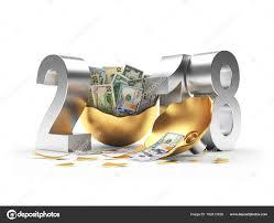 new year dollar bill silver 2018 new year and broken christmas of dollar
