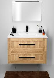 Bathroom Furniture Oak Bathroom Furniture Composition Amia Sapho