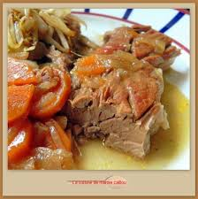 cuisiner une rouelle de porc rouelle de porc braisée la cuisine de mamie caillou