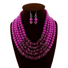 new necklace styles images Crystal beaded jewellery set african wedding jewelry set nigeria jpg