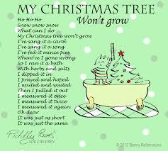 Halloween Funny Poem Christmas Tree Poems For Kids U2013 Happy Holidays