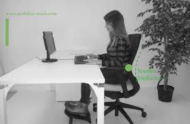 test fauteuil de bureau fauteuil de bureau ergonomique noir up to you