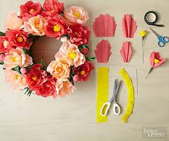 Paper Flowers Video - diy paper flowers template