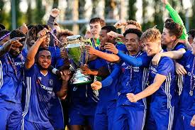 chelsea youth players under 18 premier league competition format history