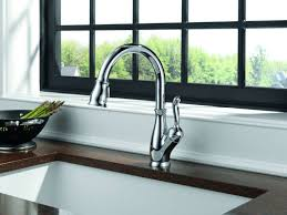 Delta Kitchen Faucets Reviews by Kitchen Delta Leland Pull Down Faucet Pulldown Kitchen Faucets