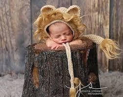 Baby Lion Costume Newborn Lion Costume Etsy