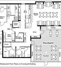 Small Restaurant Floor Plan Restaurant Floor Plans Software Design Your Restaurant And 1