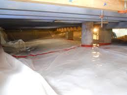 1985 square vapor barrier check subfloor check