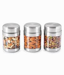 sizzle clear containers 300 ml set of 3 twist jar s8 buy online