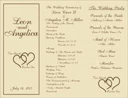 deco wedding program wedding ideas excelent deco wedding program deco wedding
