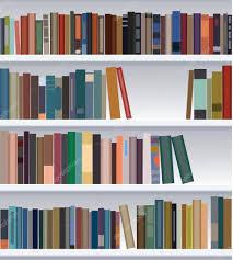 Modern Bookshelf by Vector Modern Bookshelf U2014 Stock Vector Dmstudio 9396459