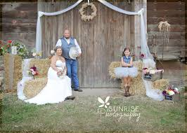 wedding backdrop rustic lovely photography by heidi stephens