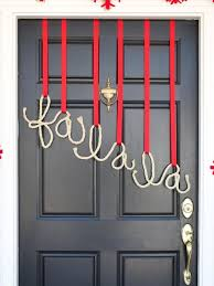 Clearance Christmas Yard Decorations by Decorating How To Decorate Your Front Door Christmas Decorated