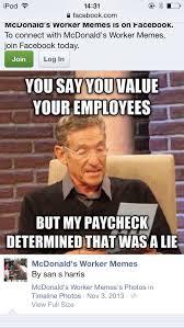 Employee Meme - 16 best mcdonalds employee humor images on pinterest mcdonalds