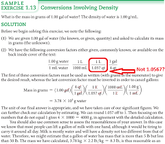 homework significant figures in conversion factors chemistry