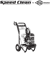 briggs u0026 stratton pressure washer 2500 psi user guide